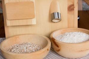 Getreidemhle und Flocker